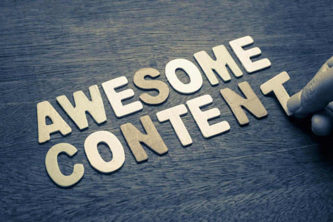 "Google recommends ""awesome"" content and organic promotion for SEO success"
